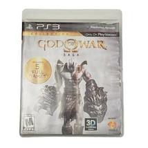 PS3 God of War: Saga Video Game (Complete, 2012) 2-Disc Set - $22.24