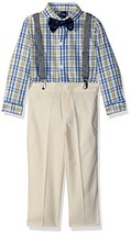 Nautica Boys Set with Shirt, Pant, (24 Months|Baby Boys|Oxford Yellow Pl... - $34.63