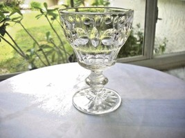 Set of 2 Sterling Crystal Classique Pattern Water Glasses - $9.90