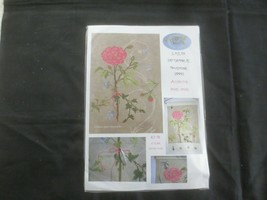 French LE KLUB Know How Workshop PINK ROSE HANGER Cross Stitch Kit - $14.85