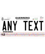 Guerrero Mexico Any Name Number Novelty Auto Car License Plate C07 - $14.80