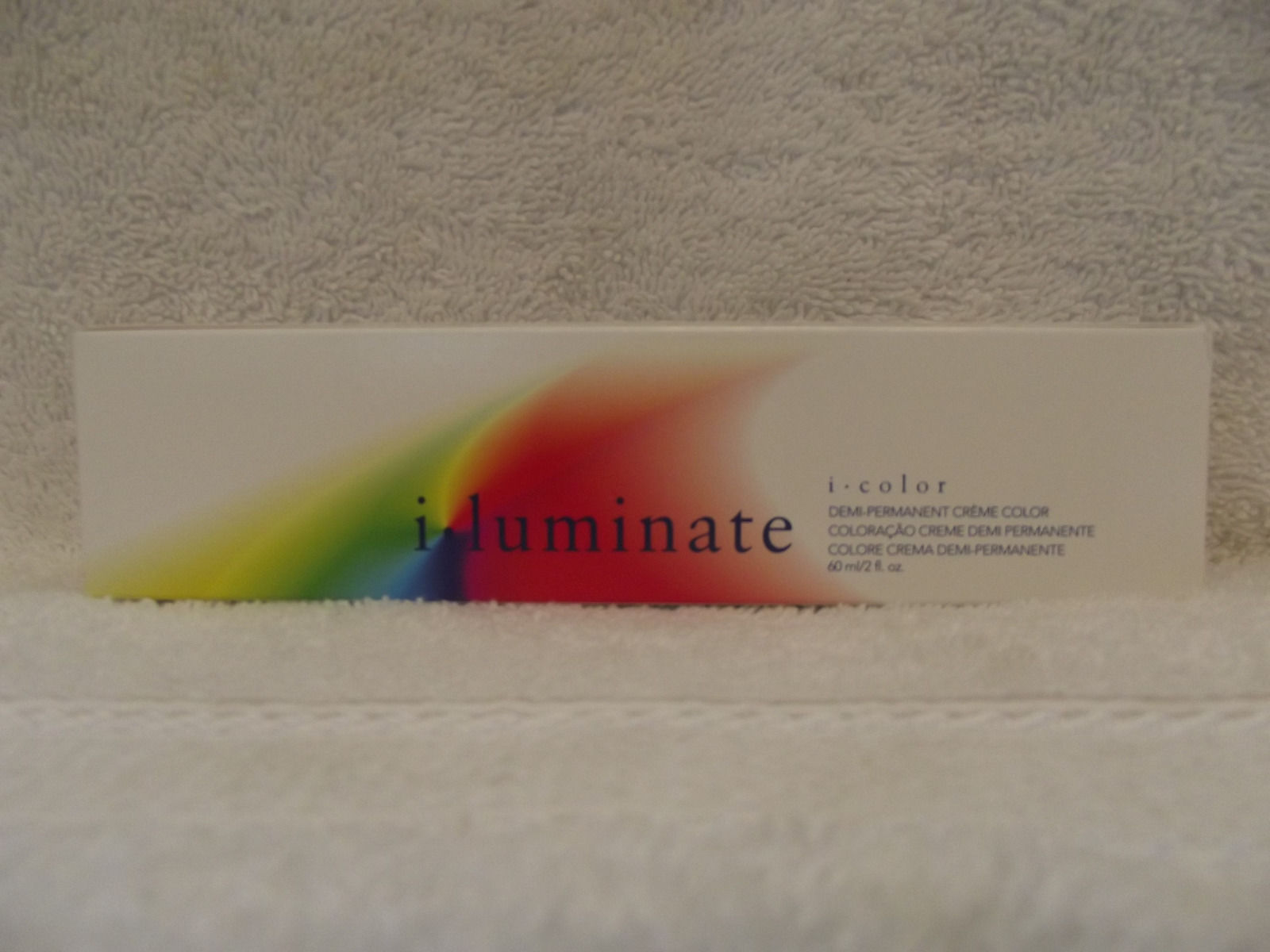 ISO I-LUMINATE Professional No PPD Demi-Permanent Cream Hair Color ~ 2 fl oz!!