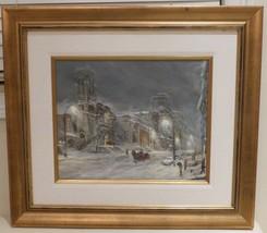 Listed Canadian Artist Elizabeth O'Rourke (1913 - 1997) Framed Oil On Board - $799.00