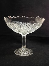 EAPG Perkins Fortuna Higbee Fashion Open Compote Pointed Ovals New Marti... - $24.95