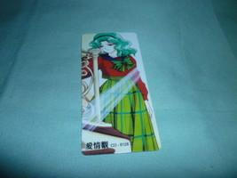 Sailor moon bookmark card sailormoon anime Michiru  school uniform - $6.00