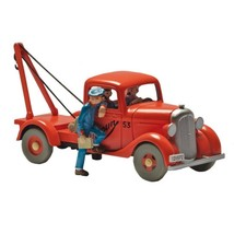 Simoun tow truck - Land of Black Gold Tintin cars Editions Atlas 1/43 image 1