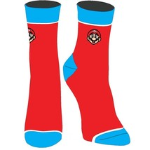 Super Mario EmbroideWomens Juniors Socks Red - $11.98
