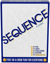 SEQUENCE- Original SEQUENCE Game with Folding Board Cards and Chips by Jax - $22.77