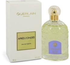 Guerlain Apres L'ondee Perfume 3.3 Oz Eau De Toilette Spray image 2