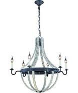 Chandelier Pendant WOODLAND Transitional 6-Light Hammered - $1,249.00