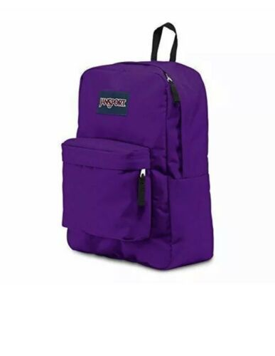 Primary image for JanSport Superbreak Lightweight Backpack With Web Haul Handle - Signature Purple