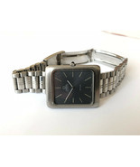 Excellent Rare OMEGA DE VILLE cal.711 Grey All Steel Vintage Swiss Watch - $536.41