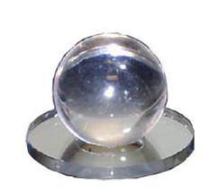 Clear Acrylic Small Ball Stick-On Mirror Knob - $15.95