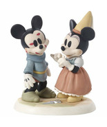 Mickey Mouse Minnie Precious Moments Brave Little Tailor Sew Wonderful NWOB  - $60.38