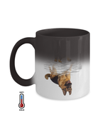 German Shepherd Dog Lovers Novelty Color Changing Mugs, Great Birthday G... - $16.95