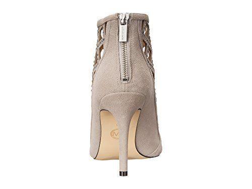 MICHAEL Michael Kors Women's Yvonne Open Toe Bootie, Grey Size 6.5, 7 image 3