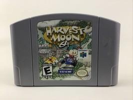Nintendo 64 Harvest Moon 64 Game Pak N64 Video Game Vintage 1997 Rated E - $75.69