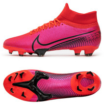 Nike Mercurial Superfly 7 PRO FG Football Shoes Soccer Cleats Red AT5382... - $142.99