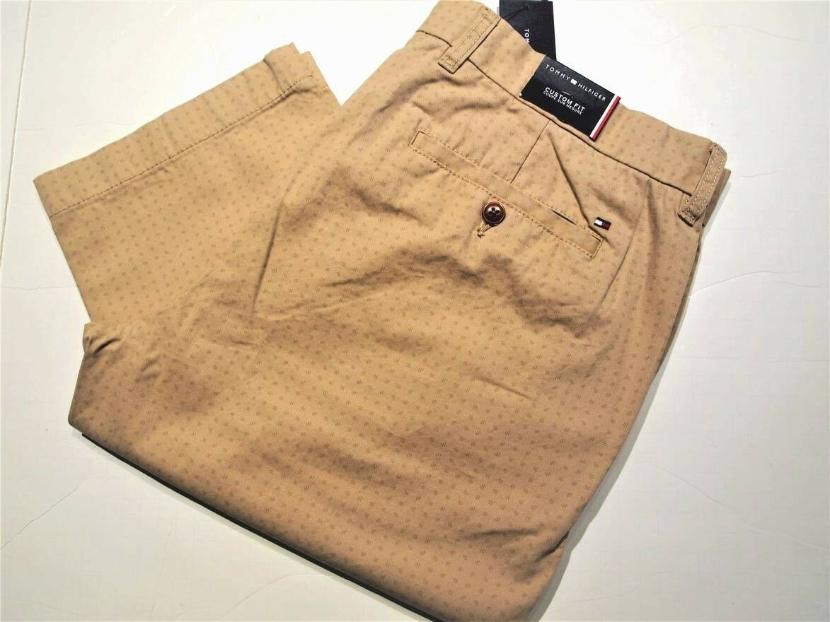 Tommy Hilfiger custom fit casual chino pants and 50 similar