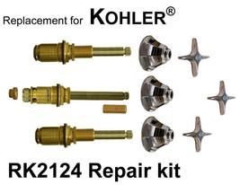 For Kohler RK2124 3 Valve Rebuild Kit - $129.95