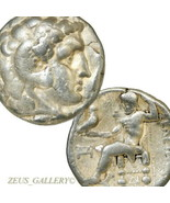Alexander the Great Tetradrachm Herakles Type Seleukos Ancient Greek Sil... - $323.10