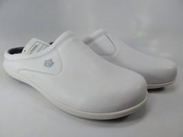 Spenco Pierce MD SL Sz US 9 M (D) EU 42.5 Men's Professional Slip On Shoes White