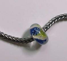 Authentic Trollbeads Unique OOAK Summer Ocean Bead  LAA Stamped New!! - $107.34