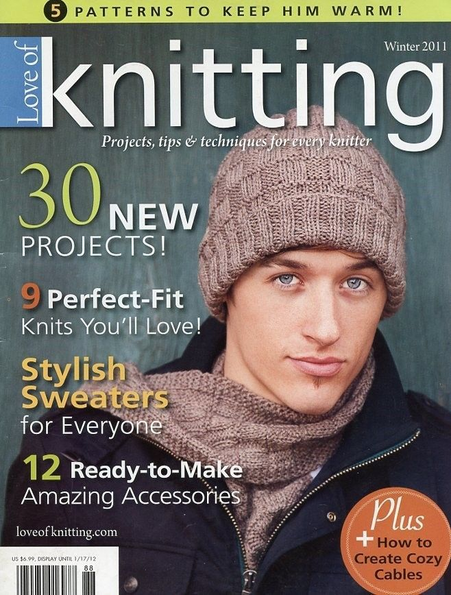 Primary image for Love of Knitting Winter 2011 Magazine