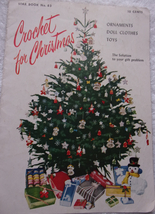 Star Book No 83 Crochet For Christmas Ornaments Doll Clothes Toys 1951 - $3.99
