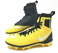 Nike Force Savage Yellow/Black Mens Football Cleats Hightop Size 10 (880... - $44.00