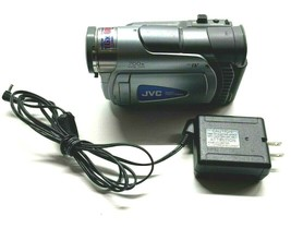 JVC GR-D30U Mini Digital Camcorder w/ Charger **Parts or Repair Only** - $32.99