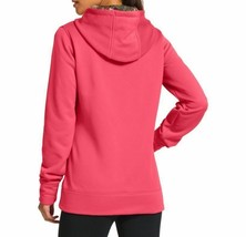 NEW UNDER ARMOUR WOMEN'S STORM CALIBER SPORT GYM WORK OUT HOODIE CERISE PINK image 2
