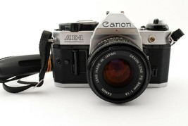 Canon AE-1 Program + 50mm f/1.8 NFD [ for parts] from japan - $98.99