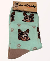 Australian Cattle Dog  Socks Unisex Dog Cotton/Poly One size fits most - $11.99
