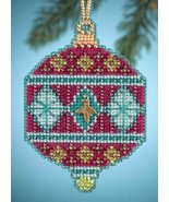 Berry Holiday Christmas Jewels 2014 charmed ornament beaded kit Mill Hill - $6.30