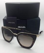 Nuevo Prada Gafas de Sol Spr 53S 2AU-3D0 52-21 Havana Carey & Dorado con /
