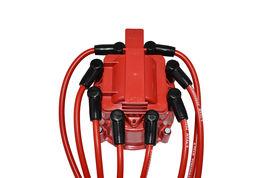 Mopar Chrysler Dodge 318 360 8.0MM Red Silicone Spark Plug Wires image 7