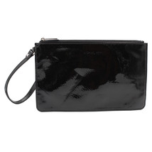 Michael Kors Reißverschluss Tasche Schwarz Handgelenk - $94.40