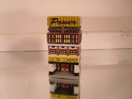 Power / Electric Company - Monopoly Porcelain Trinket Box by Cavanagh 1999 - $5.42