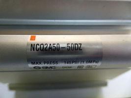 SMC NCQ2A50-50DZ Compact Cylinder NPT 145 PSI Max New image 3