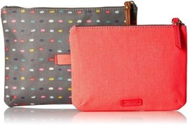 Fossil Keely Double Pouch (Dot) - $21.90