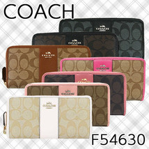 COACH F54630 Accordion Zip Around Wallet  - $57.96+