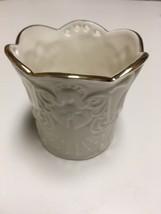 "Lenox American by Design ""Merry Lights"" Porcelain Angel Votive Tealight ... - $18.80"