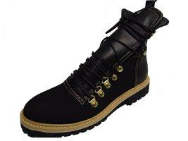 BE&D by Maison Dumain Spencer Black Ankle High Women Winter Shoe - $54.99