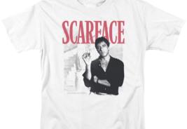 Scarface Retro 80's movie Al Pacino graphic cotton T-shirt UNI1003 image 3