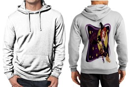 Fly Me To The Moon Limited Classic Hoodie Men White - $39.99
