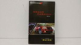 2012 Dodge Grand Caravan Owners Manual 74758 - $27.78