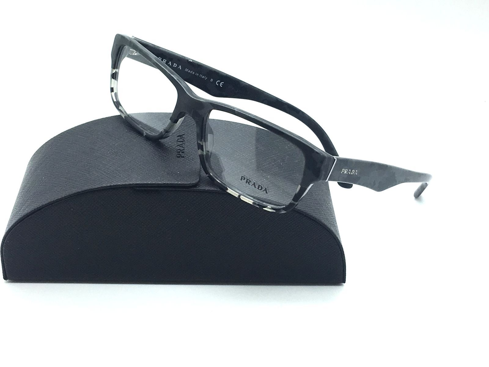 316fec97e467 Prada Gray Eyeglasses VPR 16M RON 1O1 53 mm and 50 similar items