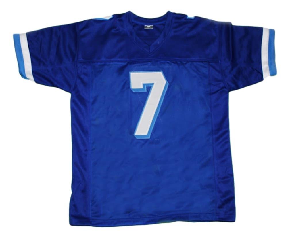 Lance Harbor #7 Varsity Blues Movie New Men Football Jersey Blue Any Size