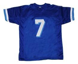 Lance Harbor #7 Varsity Blues Movie New Men Football Jersey Blue Any Size image 1